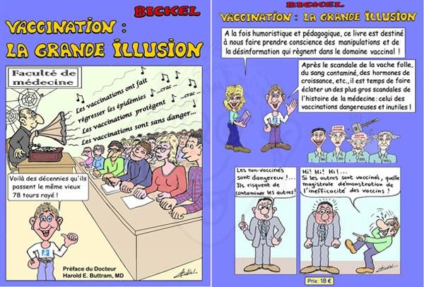 Vaccination ; la grande illusion : nouvelle édition réactualisée et en couleur