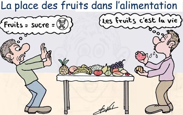 Controverse autour des fruits et du sucre