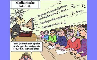 Ein impfkritisches Comic-Buch von René BICKEL