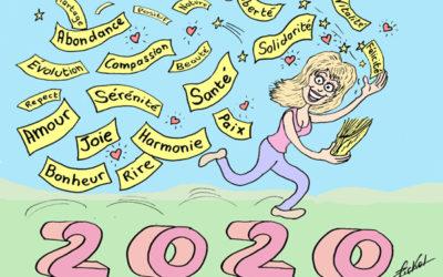 Bonne année 2020, couronnée de  belles créations
