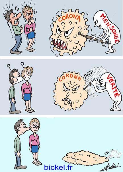 Coronavirus : du mensonge à la vérité